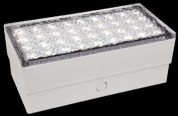 LED-Bodenleuchte McShine Pflasterstein 20x10x7cm, 180lm, IP65, warmweiß, 230V
