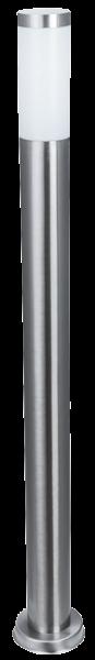 Außenleuchte, Ø75x1050mm, Edelstahl, IP44