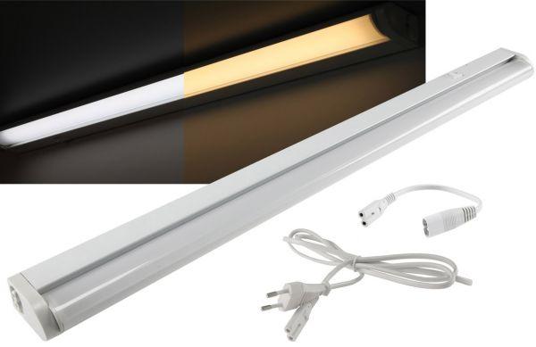 """LED Unterbauleuchte """"CT-LSW 56"""" 56cm 660lm, 8 Watt, 2700K + 4000k schaltbar"""