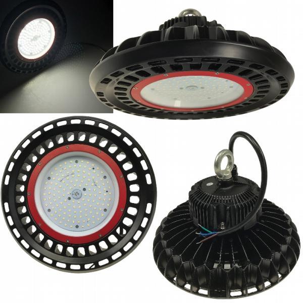 LED-Hallenstrahler 100 Watt, 110° Abstrahlwinkel und Schutzklasse IP65 mit 13.000 Lumen