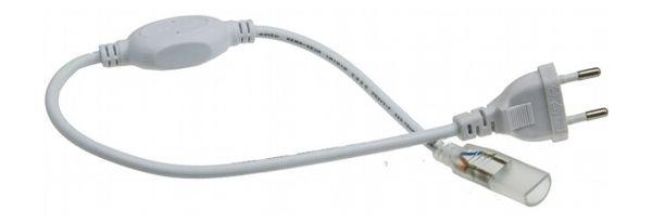 Einspeise-Modul für 230V LED-Stripes IP44 Verbinder zum Stripe, 40cm Kabel