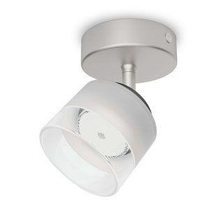 PHILIPSmyLiving LED Spot Fremont 1flg, 330lm, Stahl gebürstet
