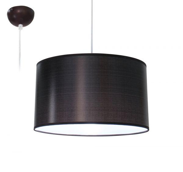 Bioledex ANISO Pendelleuchte Stoff Design braun E27 35cm L110923