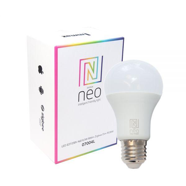 Immax Neo SMART LED E27 8,5W RGBW, dimmbar, Zigbee 3.0