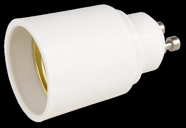 Lampensockel-Adapter McShine, GU10 auf E27