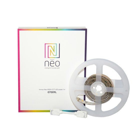 Immax Neo SMART LED Stripe 1m – Erweiterung, RGBW, dimmbar, Zigbee 3.0