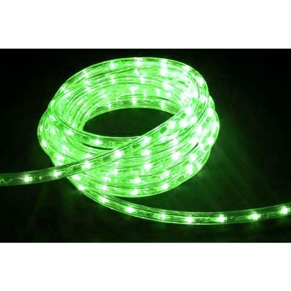 High-End LED Lichtschlauch UV-beständig IP67 1-90 Meter wählbar 230 Volt Grün