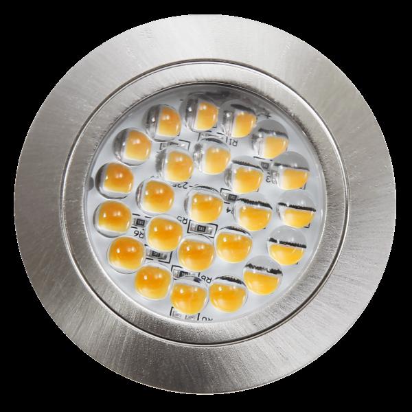 LED-Möbelleuchte McShine LM-24 2,4W, 190lm Ø65,5x10,7mm, warmweiß