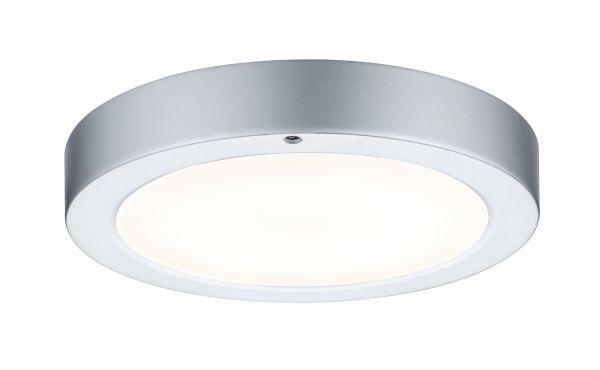 Paulmann WallCeiling Smooth LED-Panel 210mm 7,5W 230V Chrom matt/Weiß Metall/Kunststoff