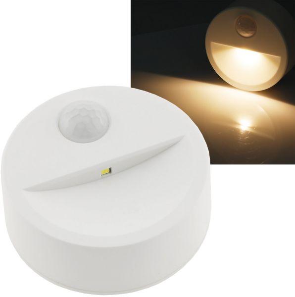 LED Treppenlicht mit Bewegungsmelder Batteriebetrieb, 3x AAA, neutralweiß