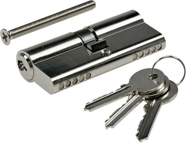 Schließzylinder 70mm (35+35mm) Profil-Zylinder, 3 Bartschlüssel