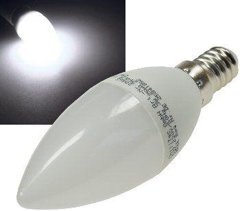 "LED Kerzenlampe E14 ""K50"" weiß 4000k, 420lm, 230V/5W"