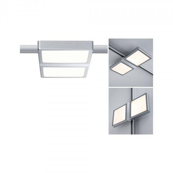 Paulmann URail LED Panel Double 8W Chrom matt