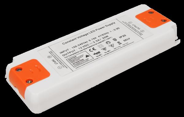 LED-Trafo McShine Slim elektronisch, 1-30W, 230V auf 12V, 160x58x18mm