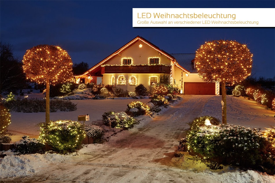 LED Weihnachtsbeleuchtung